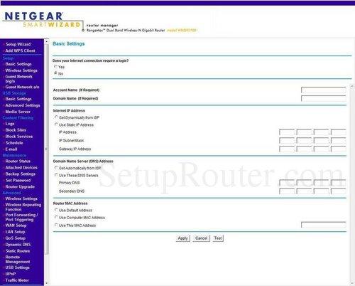 setup wifi on the netgear wndr3700 rh setuprouter com  netgear wnd3700 manual