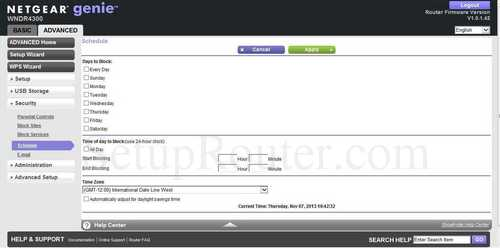 how to update router firmware netgear wndr4300