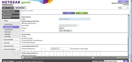 Netgear WNDR4300v2 Screenshots