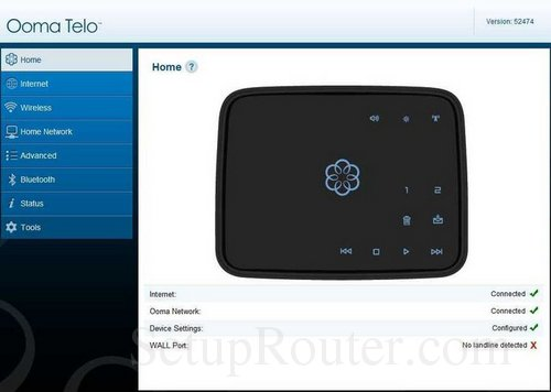 Ooma setup with router