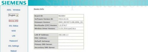 Alice siemens sl2-141-i firmware update.