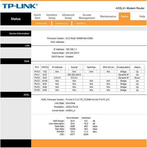How to Login to the TP-Link TD-8616