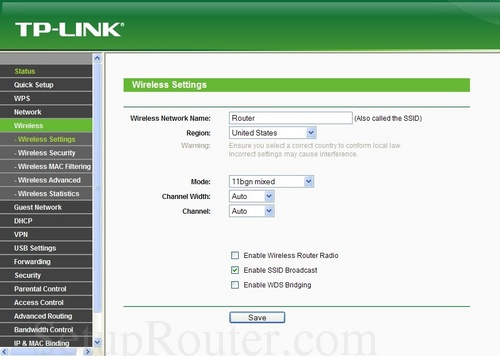how to change ssid name on tp link router