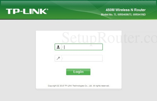 How to Login to the TP-Link TL-WR940Nv3