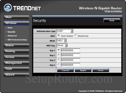 how to change wpa2 password in acanac router