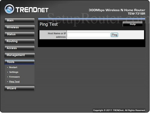 Trendnet Tew 731br Screenshots