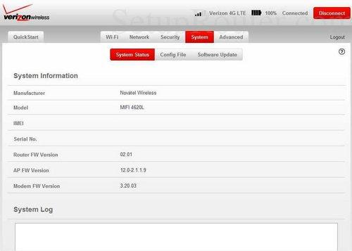setup wifi on the verizon mifi 4620l rh setuprouter com AT&T MiFi Landing Page AT&T MiFi Landing Page