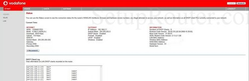 Setup WiFi on the Vodafone Easybox-802