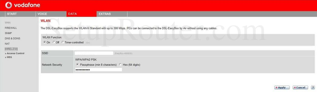 Easybox 802 Firmware