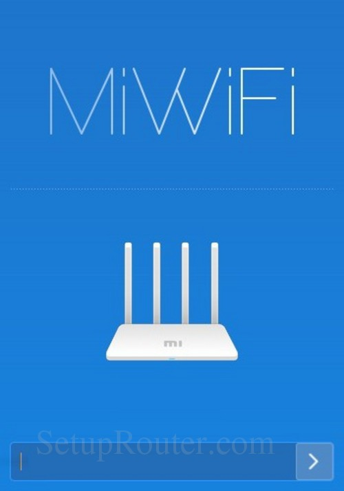 How to Login to the Xiaomi Mi WiFi Router 3