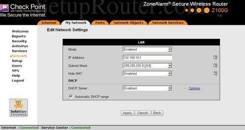 how to change the ip address on my router