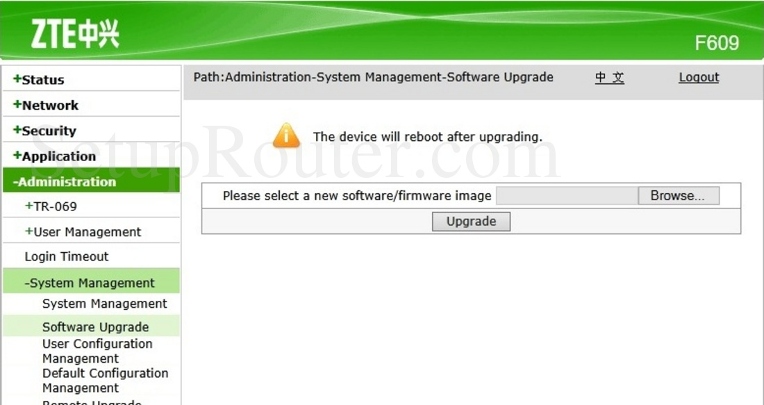 Download Firmware Zte F609   CaraNgeflash