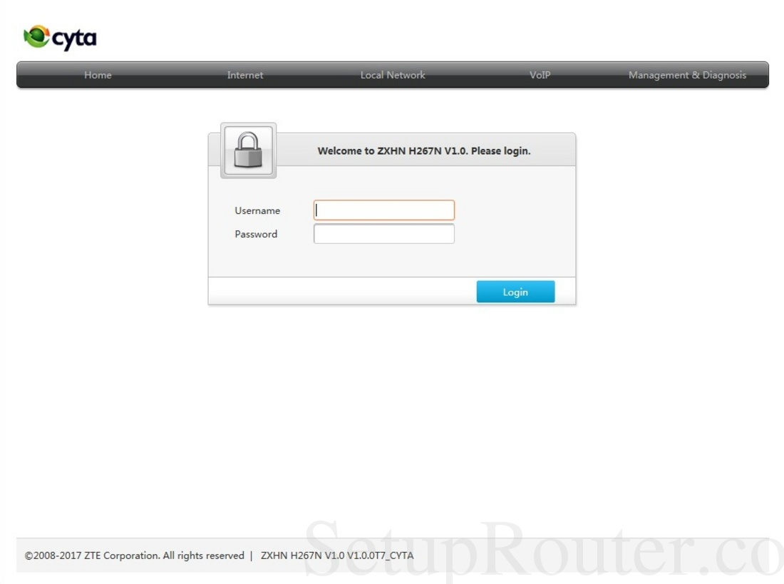 zxhn h267n v1.0 actualizar firmware
