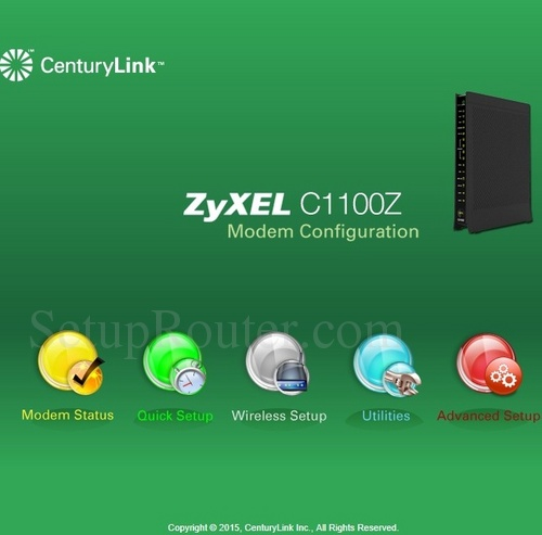 How to Login to the ZyXEL C1100Z