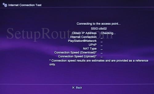 PS3 Static IP Address