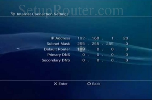how to know your static ip address
