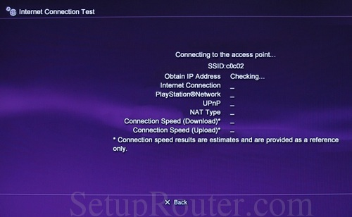 ps3 static ip address rh setuprouter com PlayStation 3 Setup Help sony playstation 3 manual setup