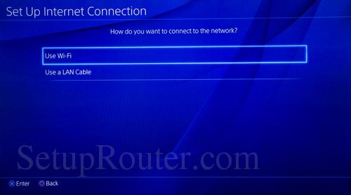 PS4 Static IP Address
